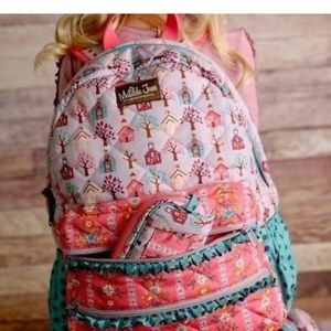 "Matilda Jane Accessories - NWT Matilda Jane ""Charm School"" Backpack"